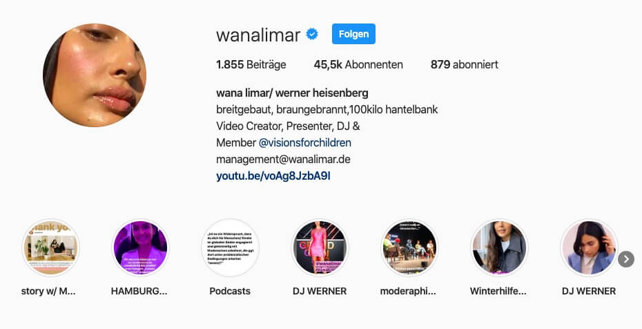 Instagram Profil Gestalten Guide Fur 2019 Mediabynature 11
