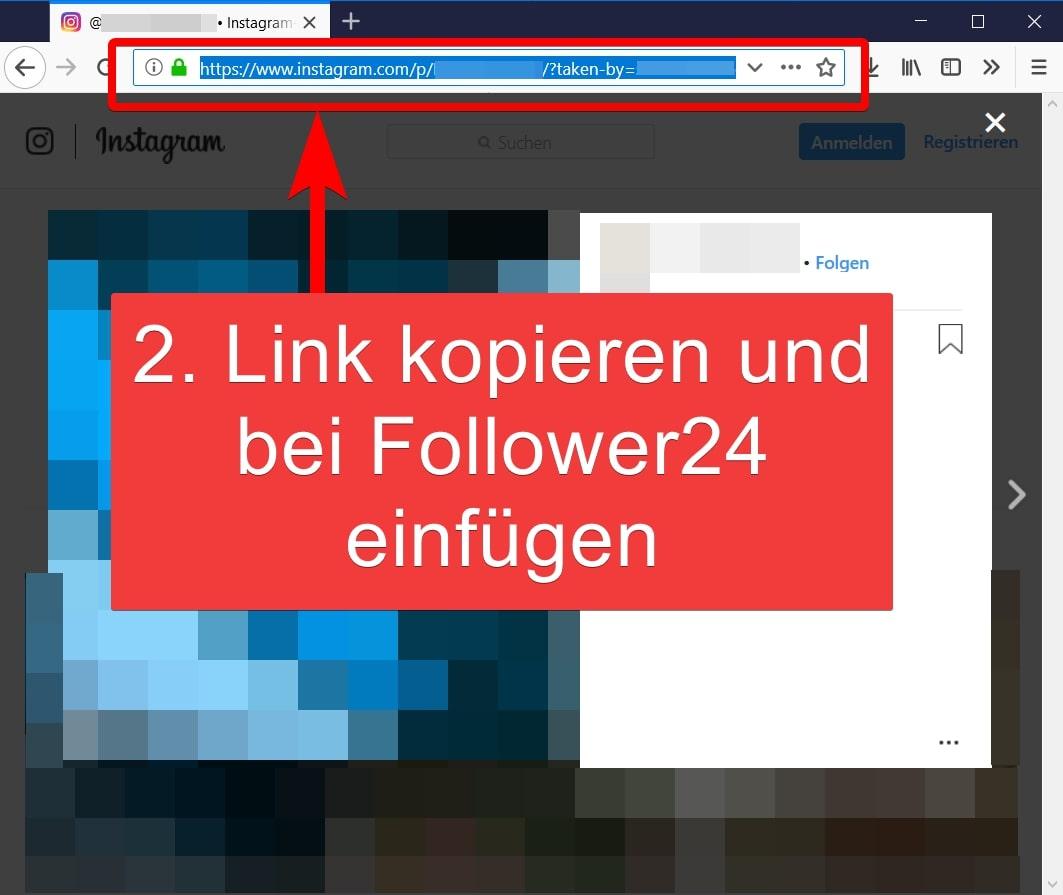 Schritt 2: Link kopieren